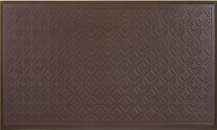 Fairmont Tiles Chocolate - Flooring Mats and Turf