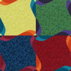 Pinwheel Carpet Tile™ - Flooring Mats and Turf