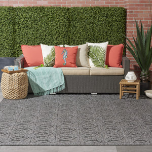 Nourison Cozumel CZM01 Area Rug - Flooring Mats and Turf