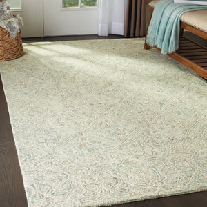Nourison Azura AZM01 Oversized Handcrafted Rug - Flooring Mats and Turf