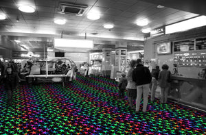 Starstruck Fluorescent Tile™ - Flooring Mats and Turf