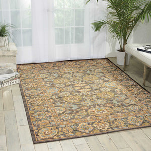 Nourison Timeless TML20 Area Rug - Flooring Mats and Turf