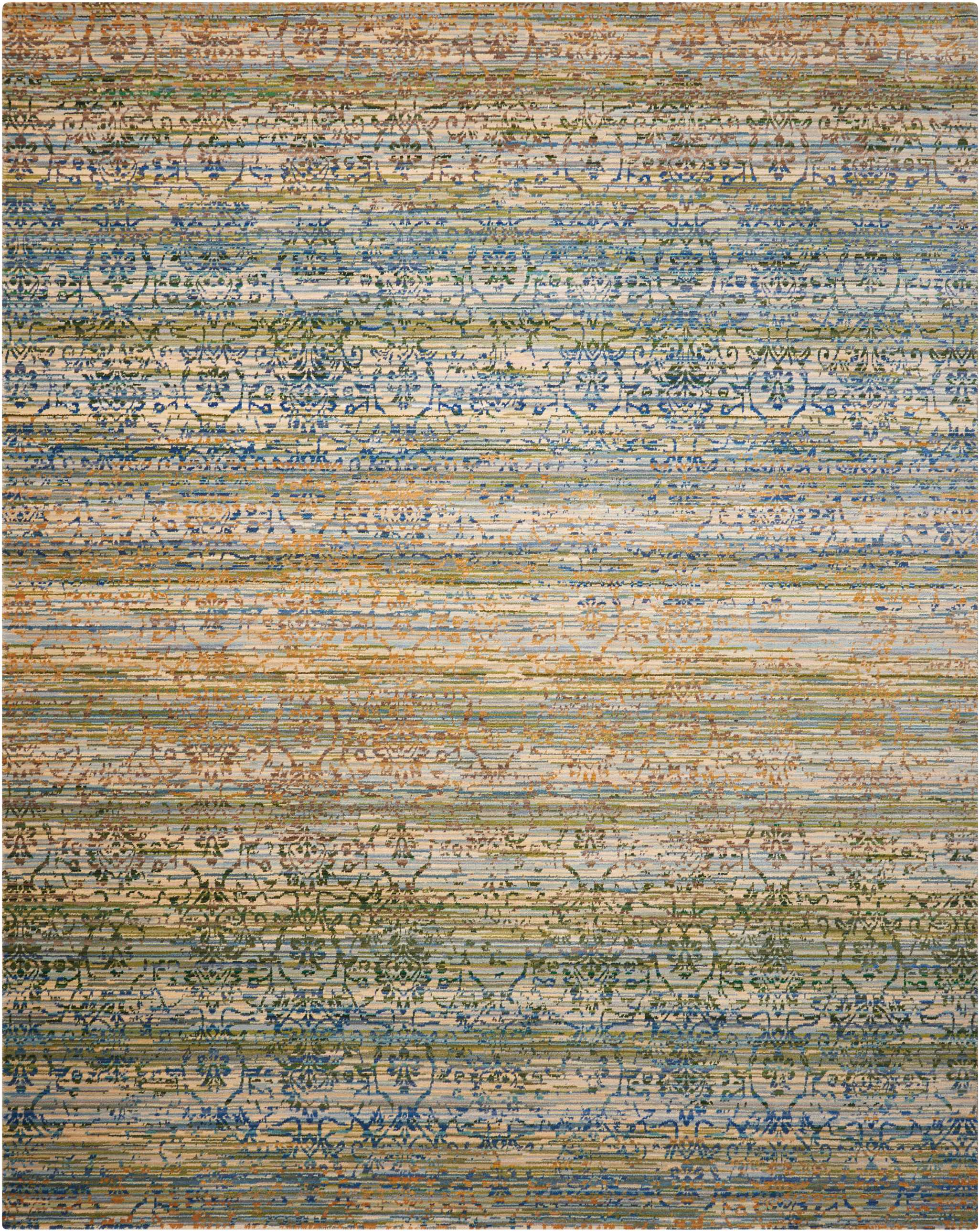 Nourison Rhapsody RH003 Area Rug - Flooring Mats and Turf