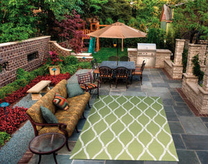 Nourison Home & Garden RS089 Rug - Flooring Mats and Turf