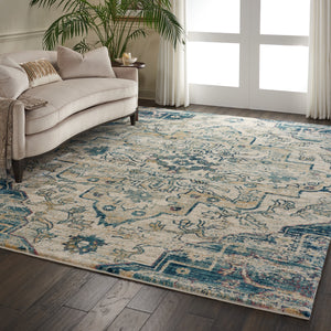 Nourison Fusion FSS13 Oversized Plush Shag Rug - Flooring Mats and Turf