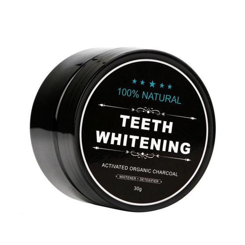 Teeth Whitening Powder Organic Charcoal