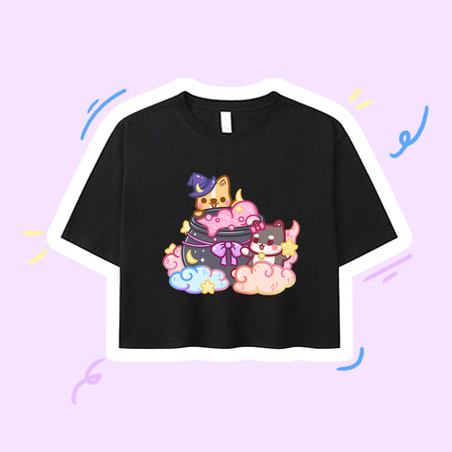 [PREORDER] Witchy Moment Crop Tee