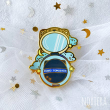 Load image into Gallery viewer, Stars & Dreams Makeup Enamel Pin: Sweet Dream Lipstick