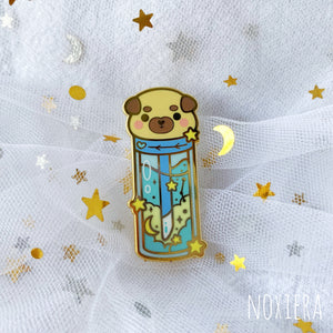 Stars & Dreams Makeup Enamel Pin: Starry Dream Lip Gloss