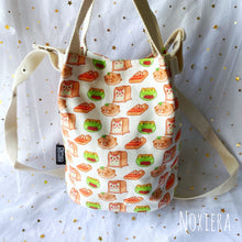 Load image into Gallery viewer, Bakery Bucket Bag (Breads)