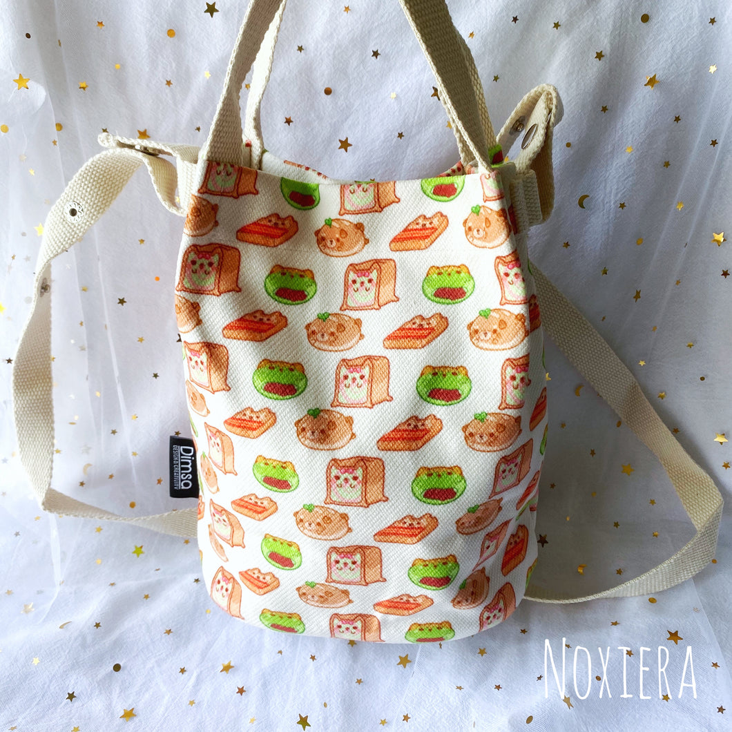 Bakery Bucket Bag (Breads)