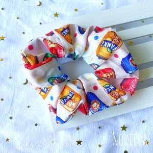 Fizzy Drinkies Satin Scrunchie