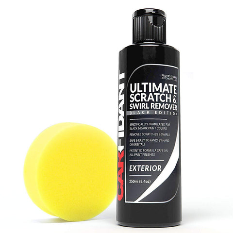 Carfidant Black Car Scratch Remover - Ultimate Scratch and Swirl Remover for Black and Dark Paints - Carfidant