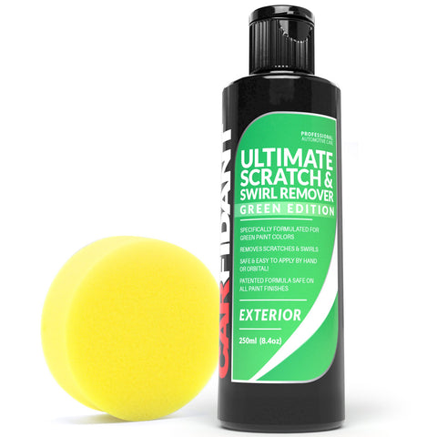 Carfidant Green Car Scratch Remover - Ultimate Scratch and Swirl Remover for Green Color Paints - Carfidant