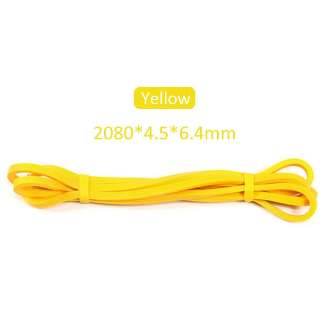 Elastic Bands for Fitness 2.08m Crossfit Resistance Latex Band Body Weightlifting Powerlifting Pull Up Workout Pilates Equipment