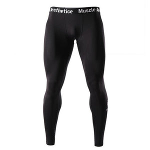 Men Compression Fitness Pants Quick dry