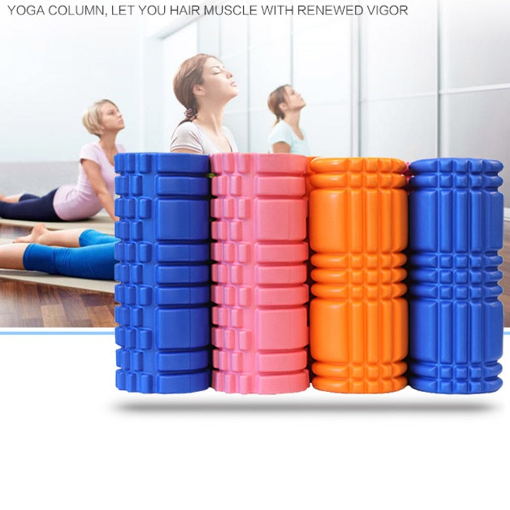 Massage Yoga Foam Roller 30cm - 6 Colors