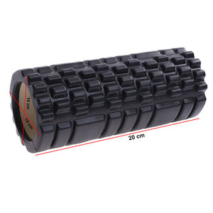 Yoga Block Roller Eva Fitness Foam Roller Massage Pilates Body Exercises Gym With Trigger Points Training Fitness Equipment