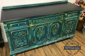 Stunning Whimsical Buffet Credenza Media
