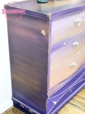 Custom Painted Dresser / Entry Piece