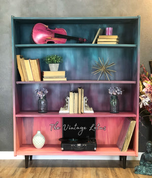 Colorful Vintage MCM Shelve