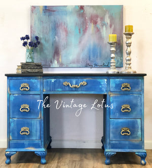Boho Farmhouse Desk / Vanity