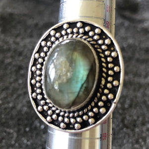 Breathtaking Labradorite Ring