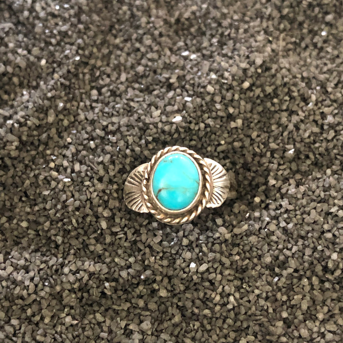 Vintage Native Turquoise Ring