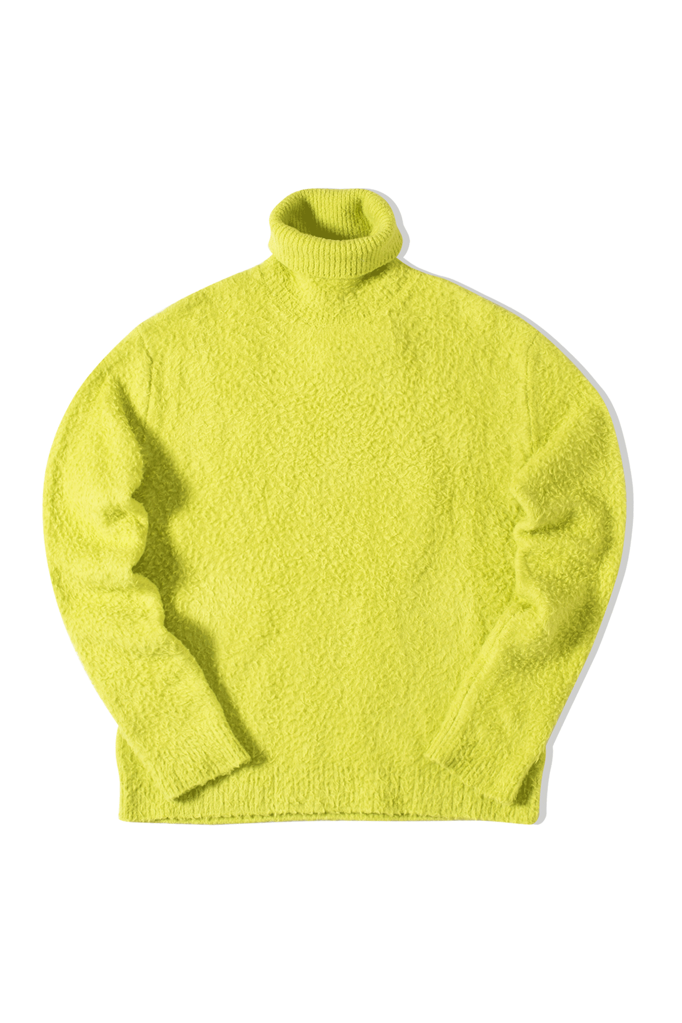 Mullet Highneck Sweater Wincot Green