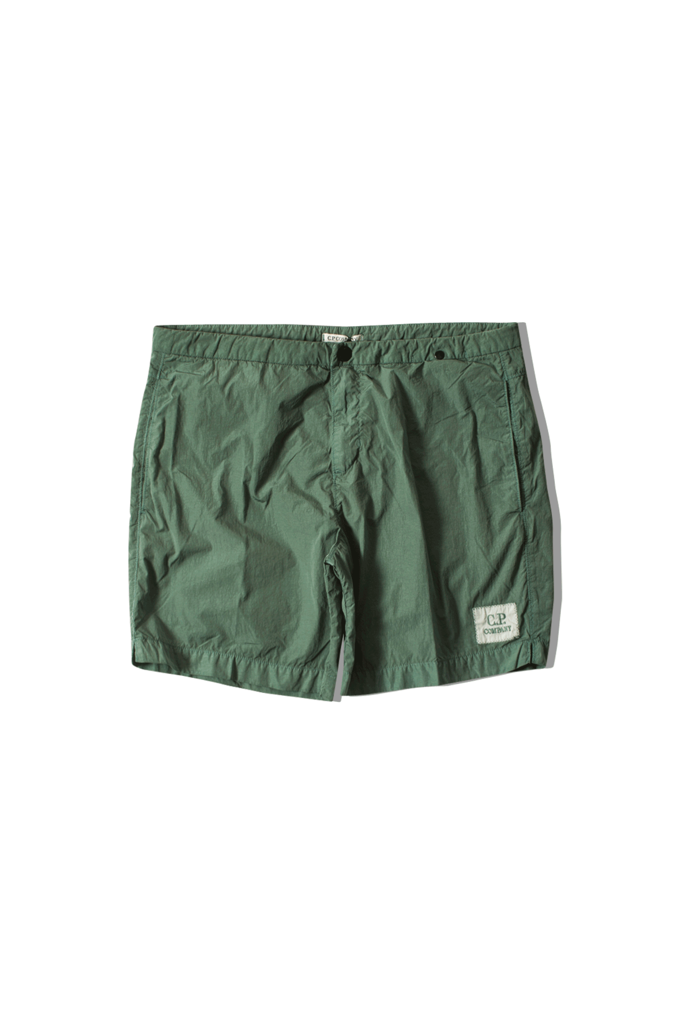 C.P. Company Beachwear Boxer Green 06CMBW163A#000004G#626#44 - One Block Down