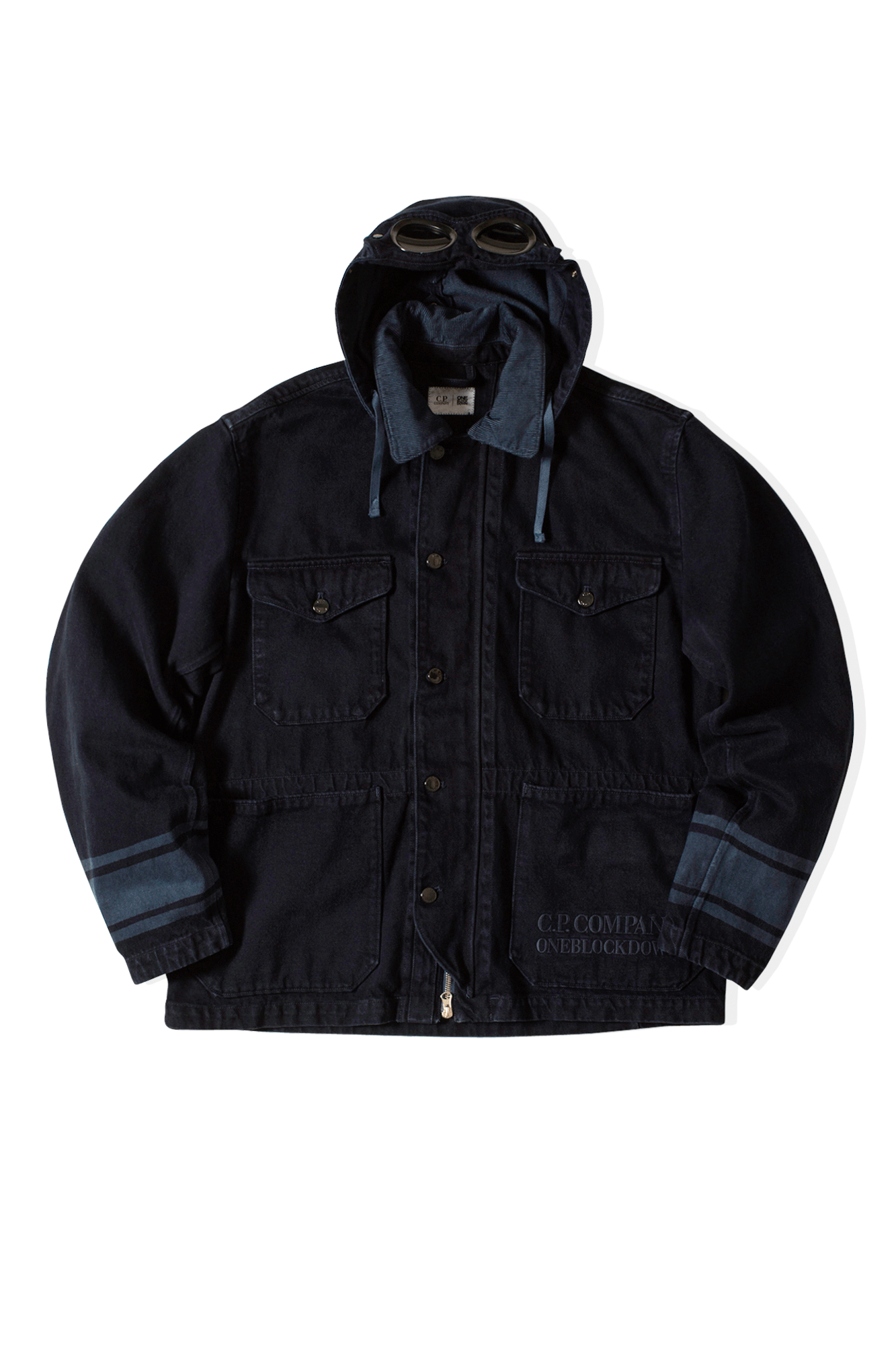 Medium  Jacket x One Block Down Blue