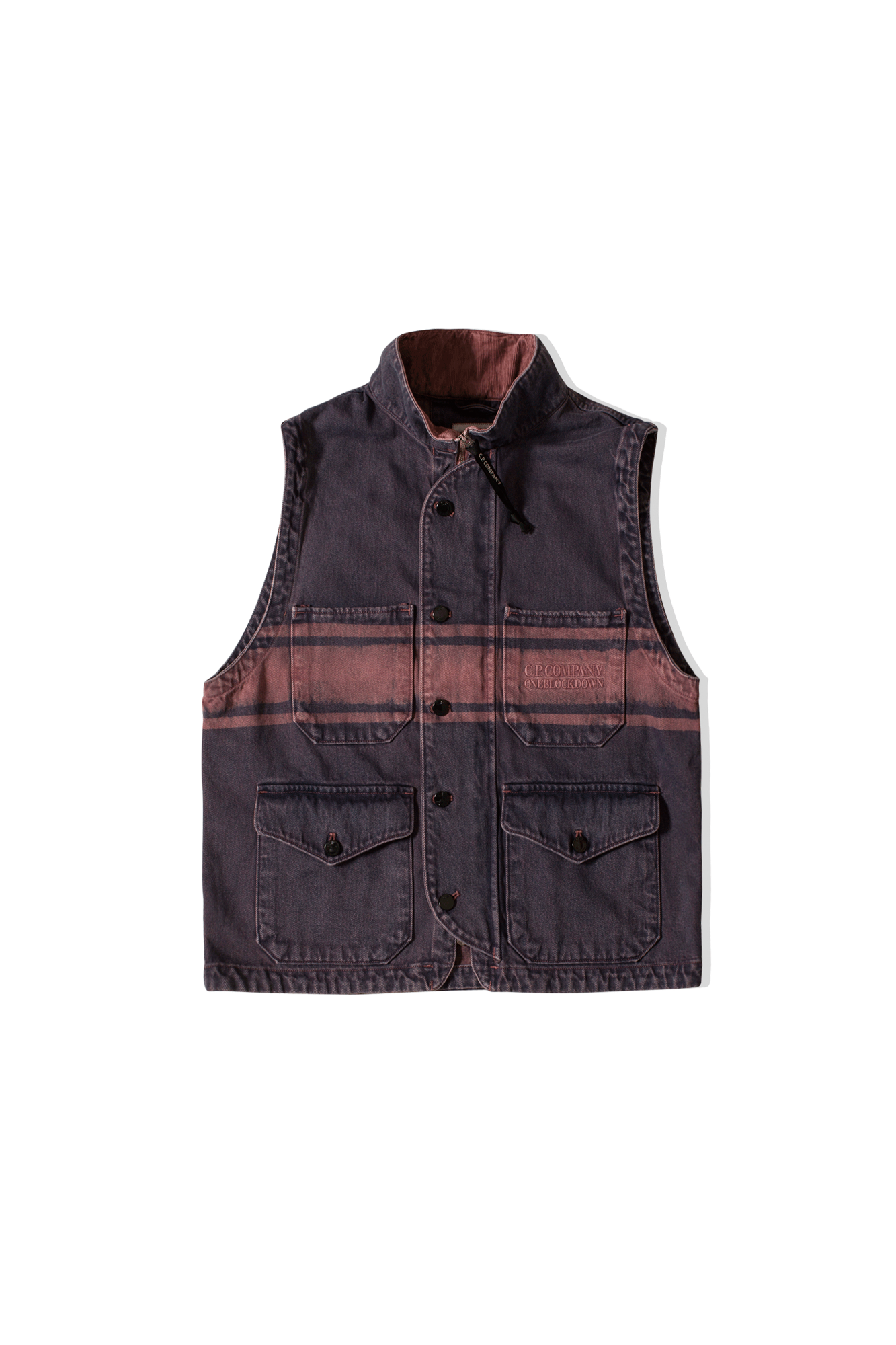 Vest x One Block Down Purple