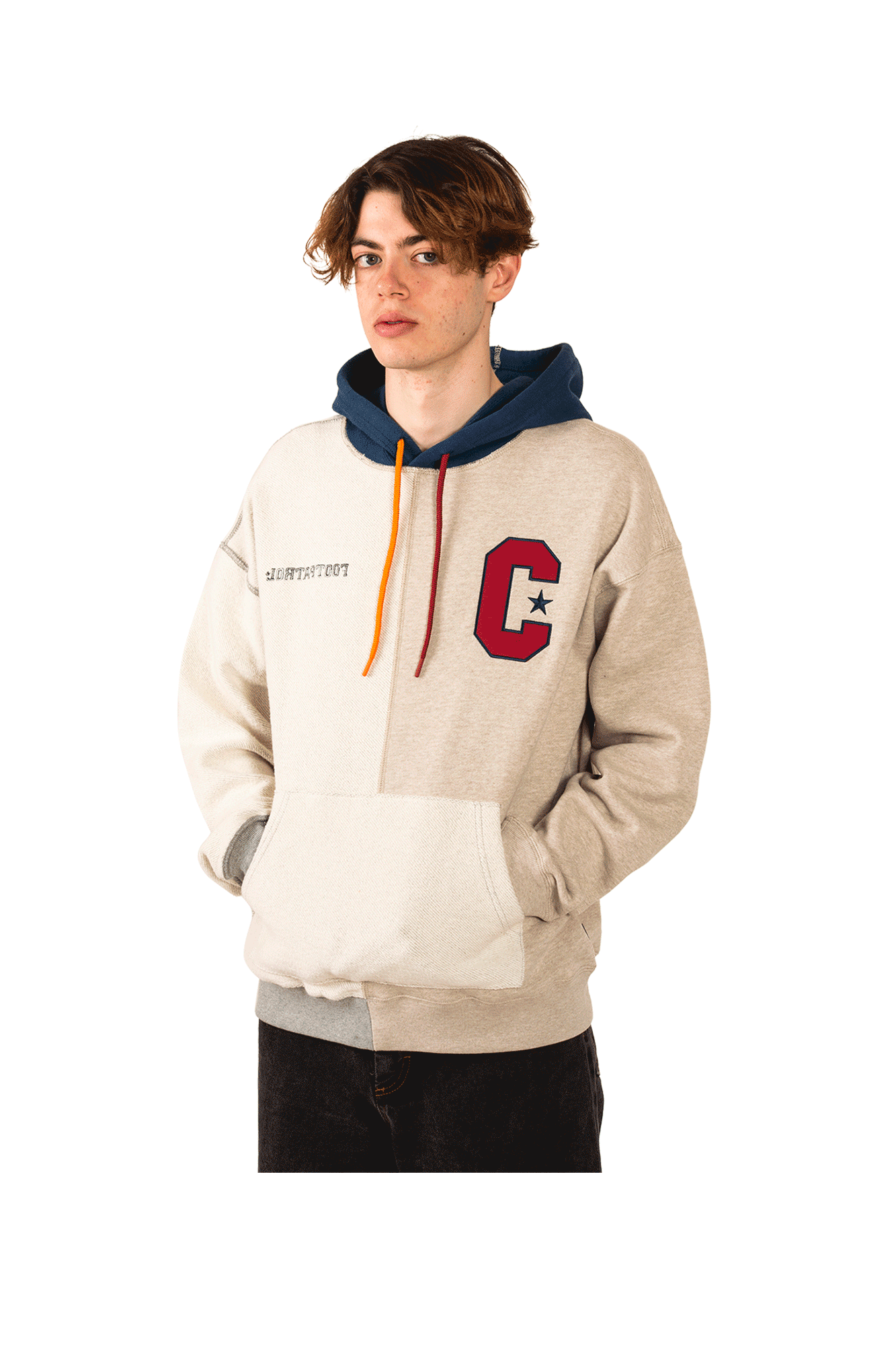 Converse Sweaters Pullover Heater X Footpatrol Brown 10017721#000#121#XL - One Block Down