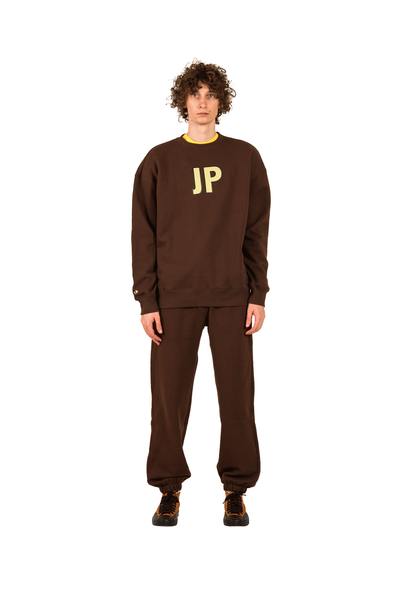 Converse Sweaters Crew Sweatshirt X ASAP NAST Brown 10017741#A02#267#M - One Block Down