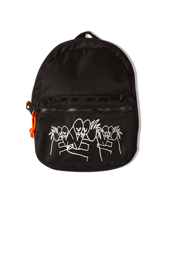 Backpack X Yung Lean Black