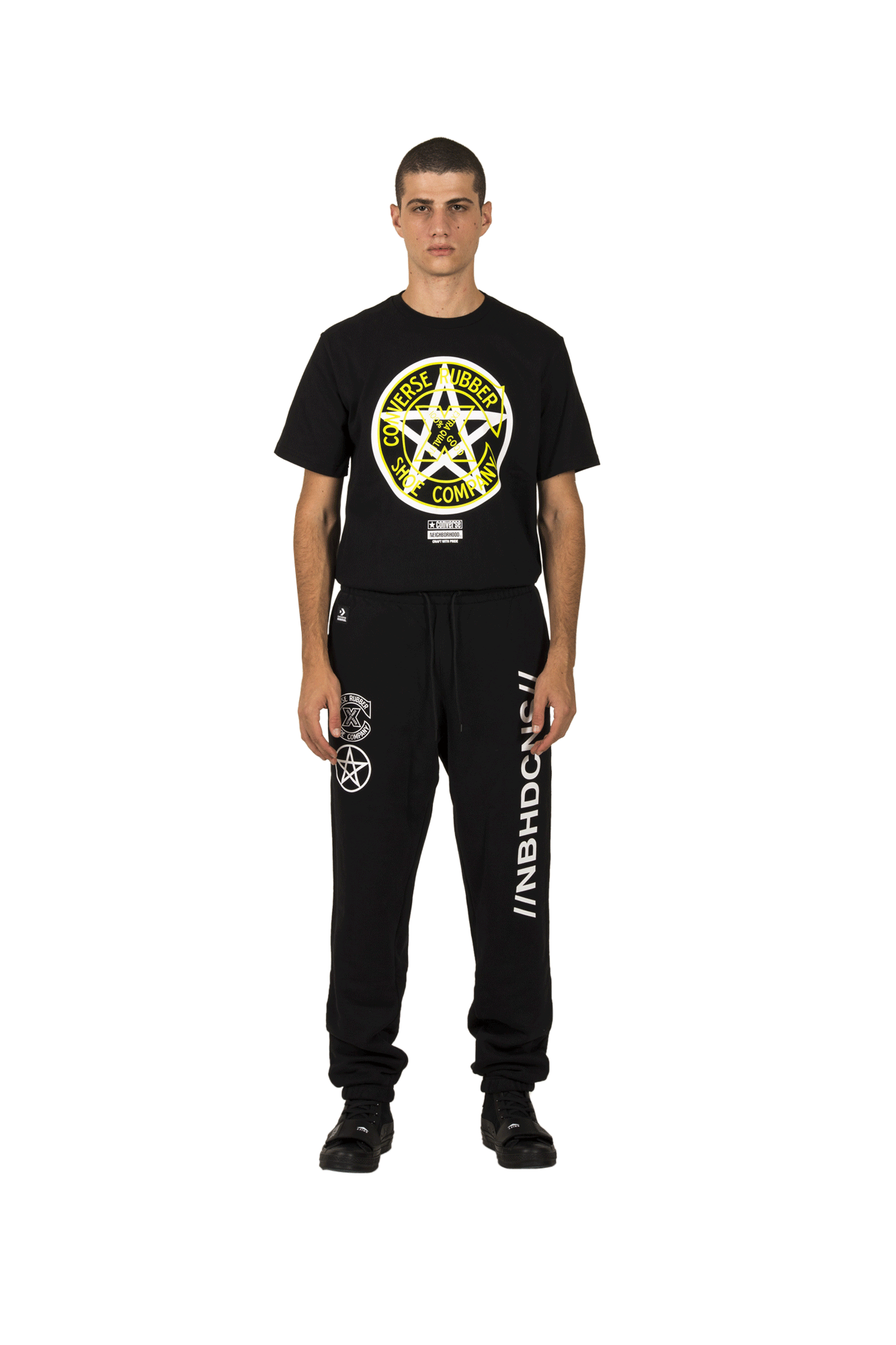 Sweatpants x Neighborhood Black