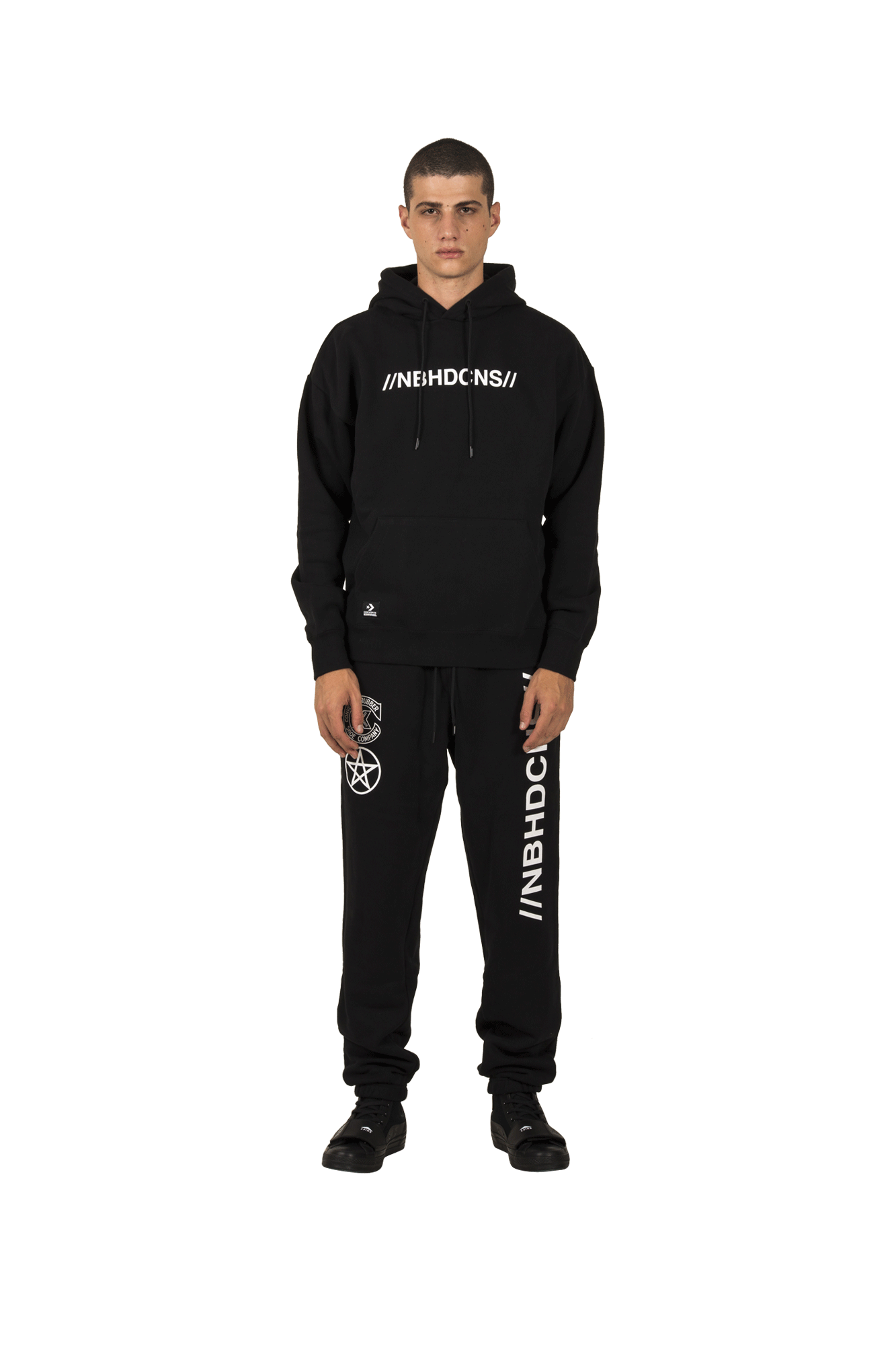 Hoodie  x Neighborhood Black