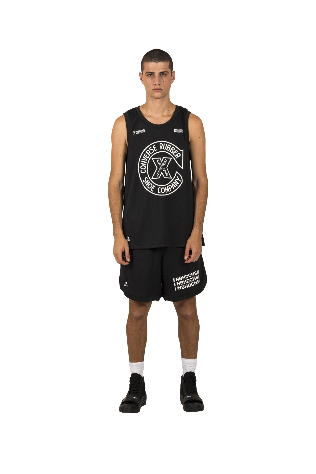 Mesh Jersey x Neighborhood Black