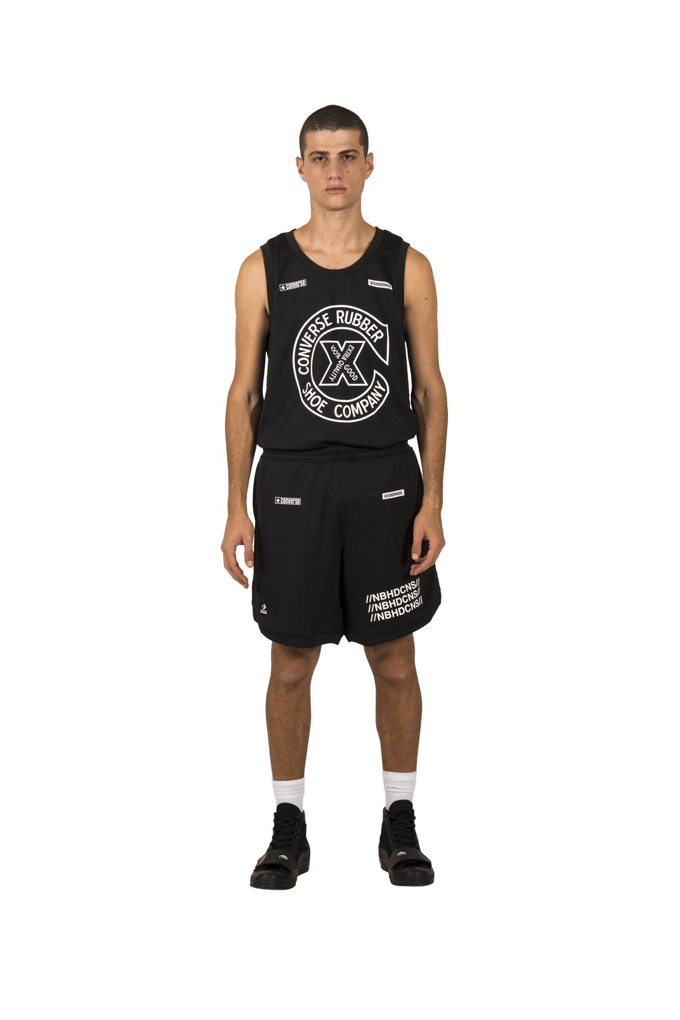 Mesh Short x Neighborhood Black