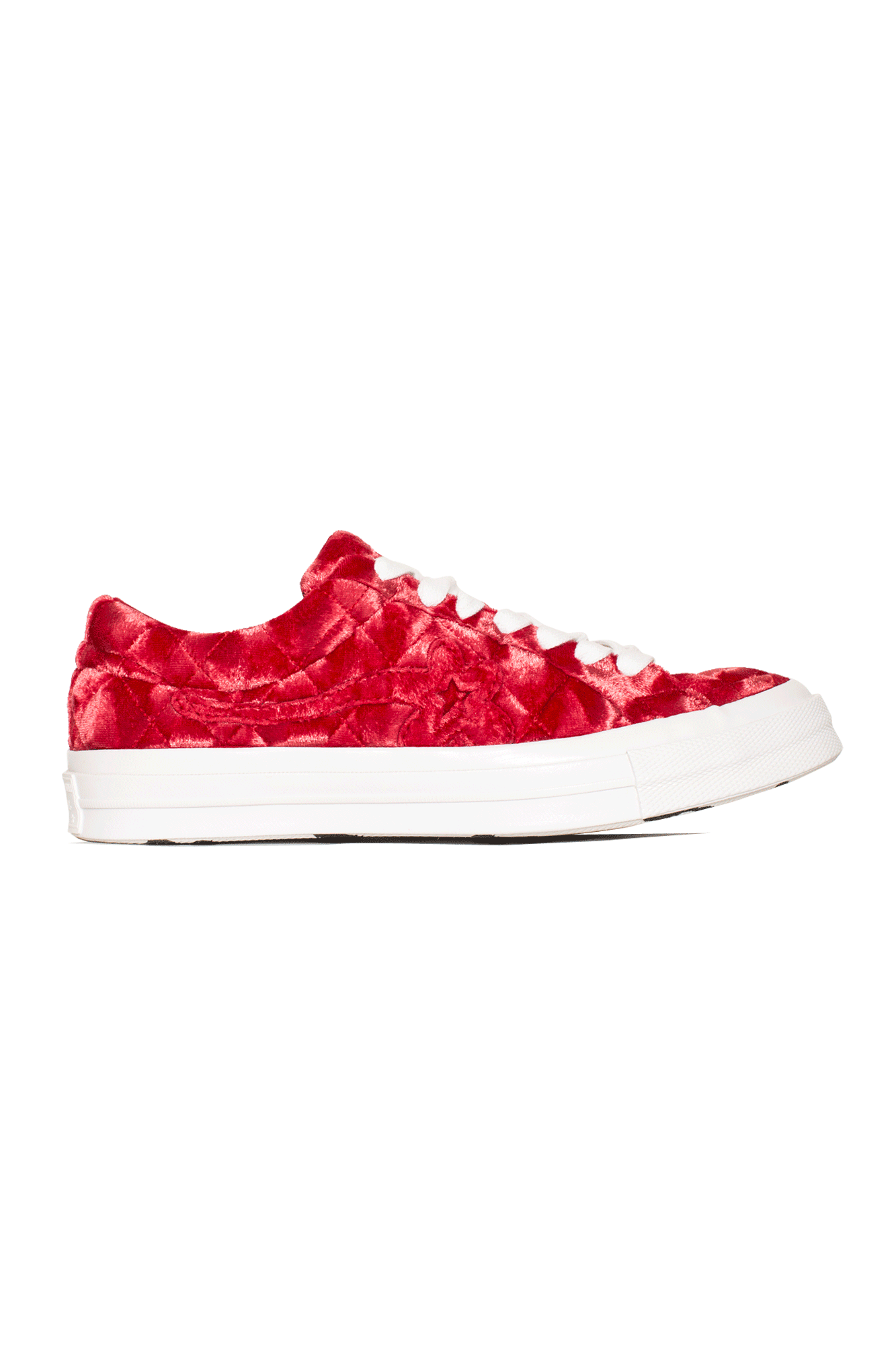 Converse Sneakers TTC Quilted Velvet Red 165598C#000#C0012#4 - One Block Down