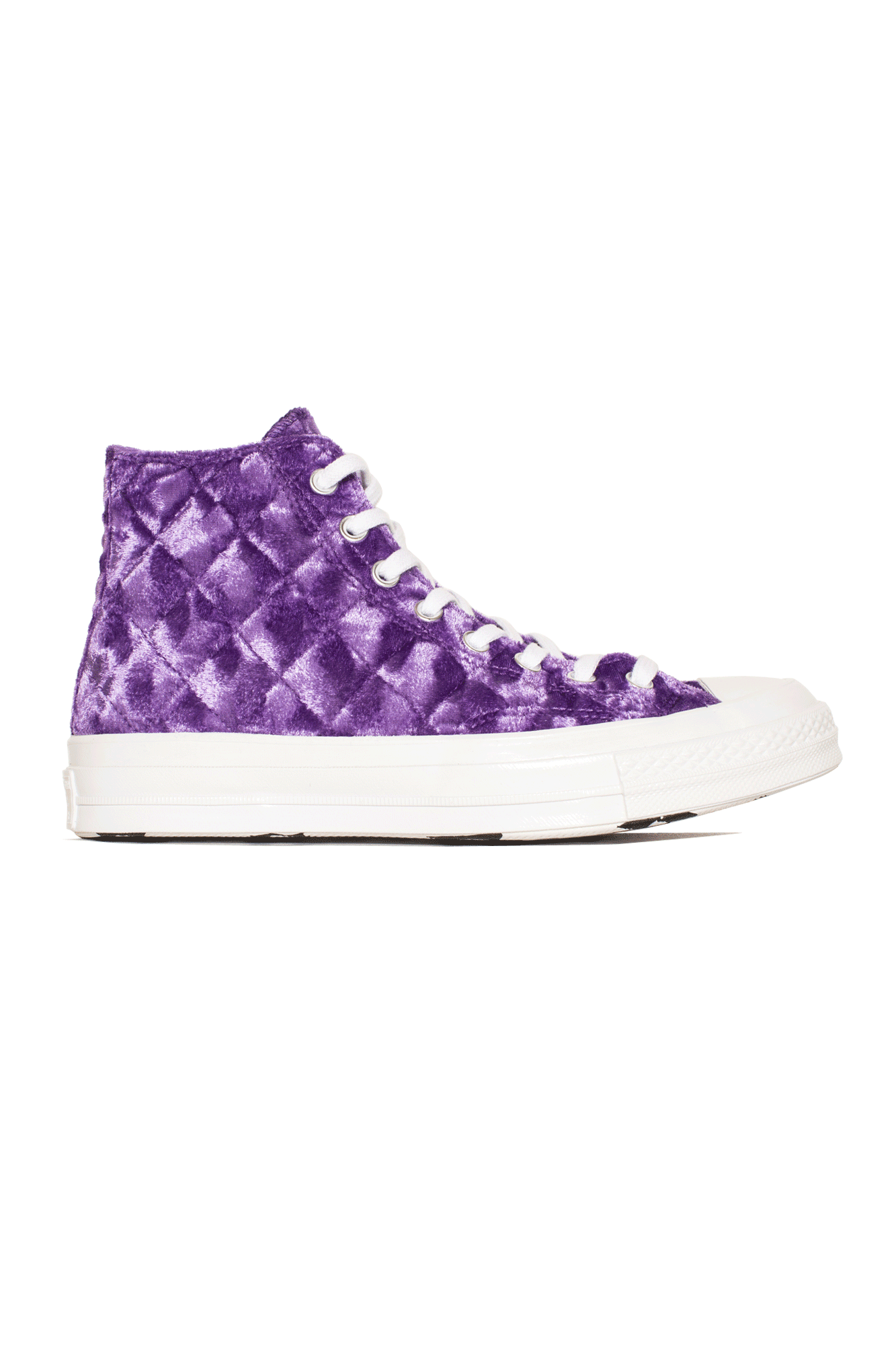 Converse Sneakers TTC Quilted Velvet Purple 165600C#000#C0014#5 - One Block Down