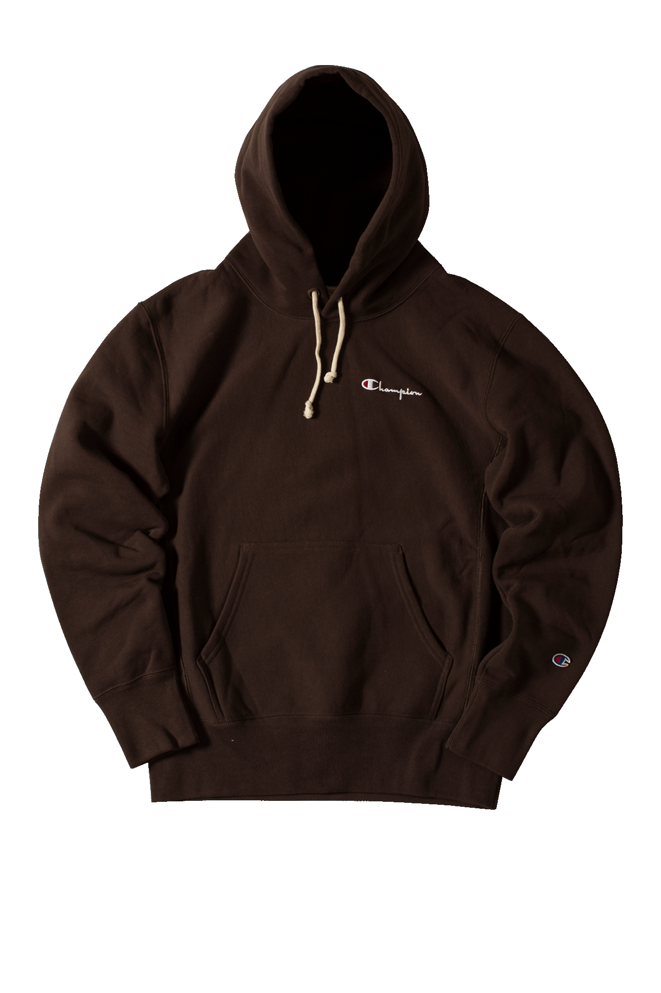 Hooded sweatshirt Brown
