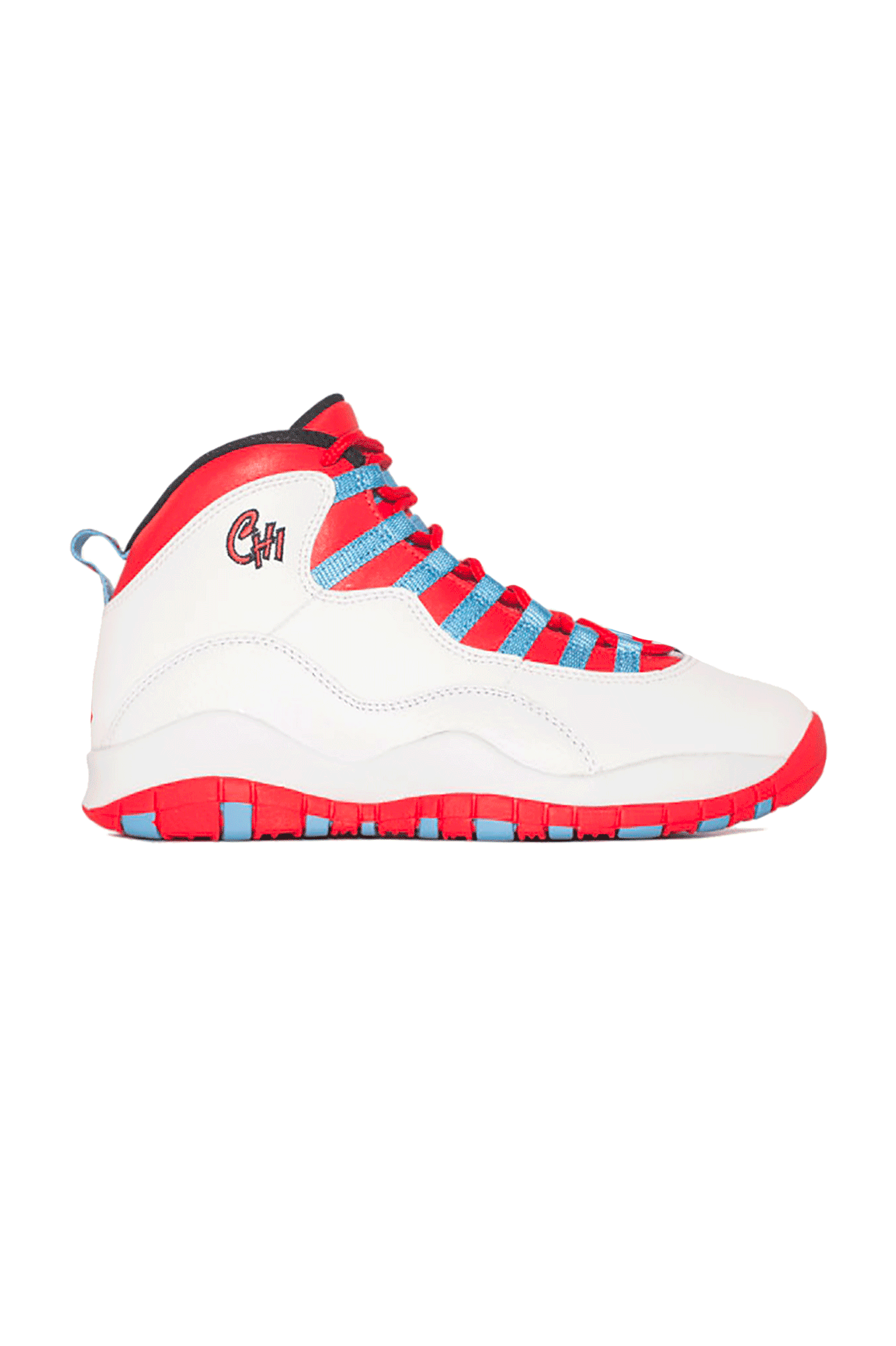 Sneakers Air Jordan 10 Retro Chicago White - One Block Down
