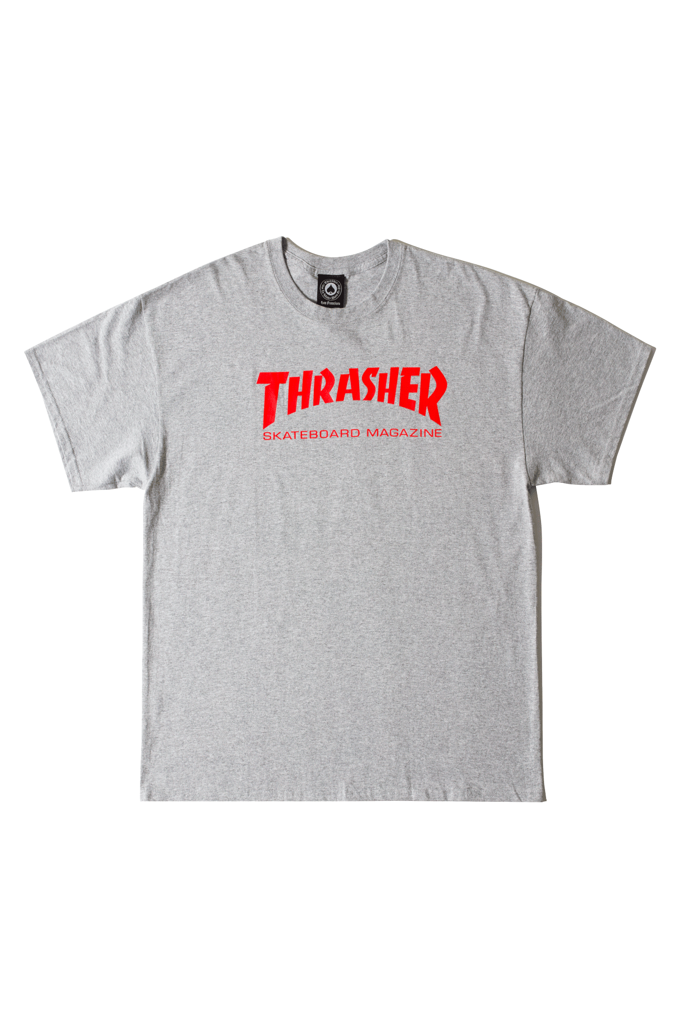Thrasher T-Shirts Skate Mag Grey 311027#000#GREY#S - One Block Down