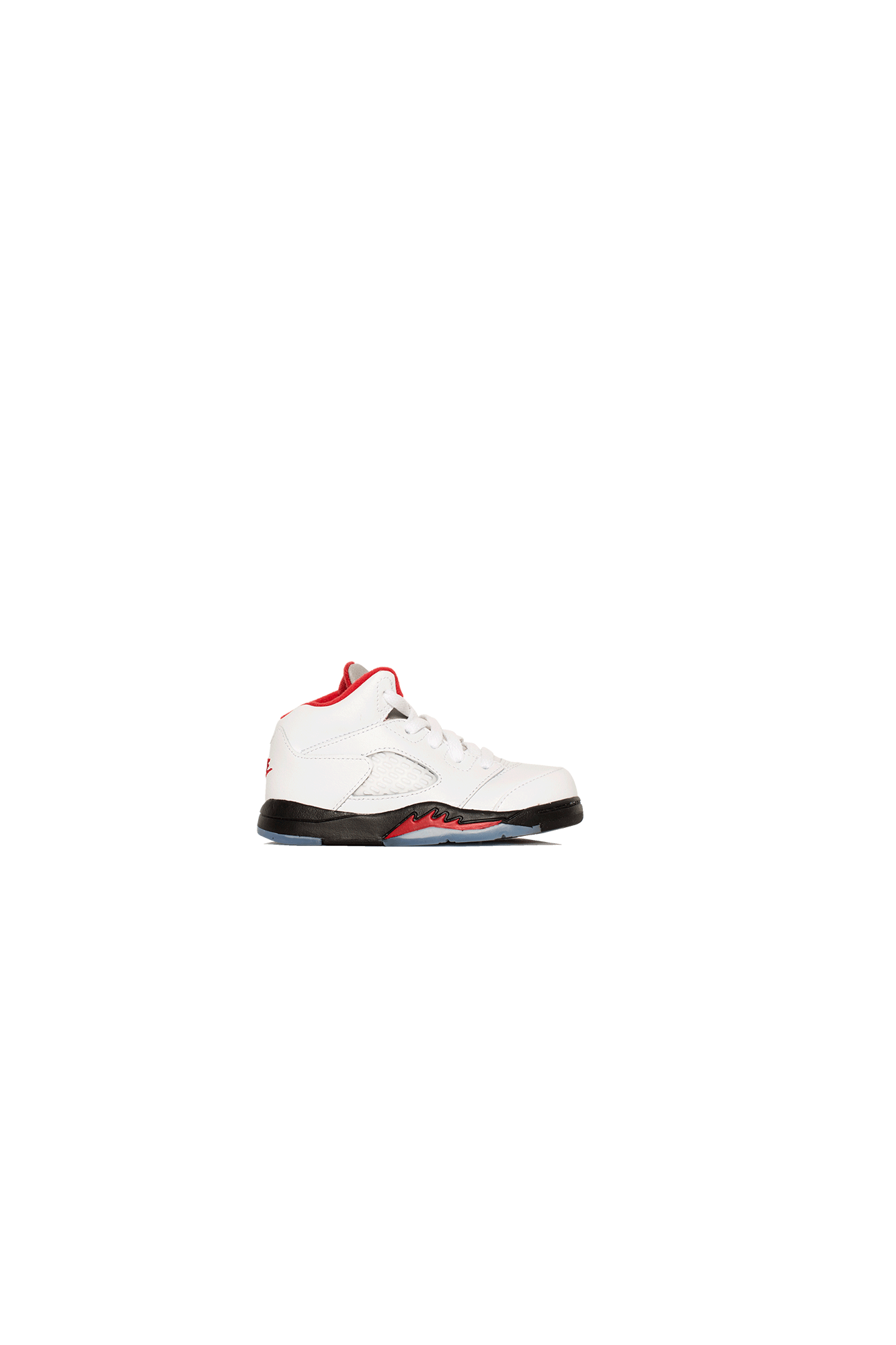 "5 Retro TD ""Fire Red"" White"