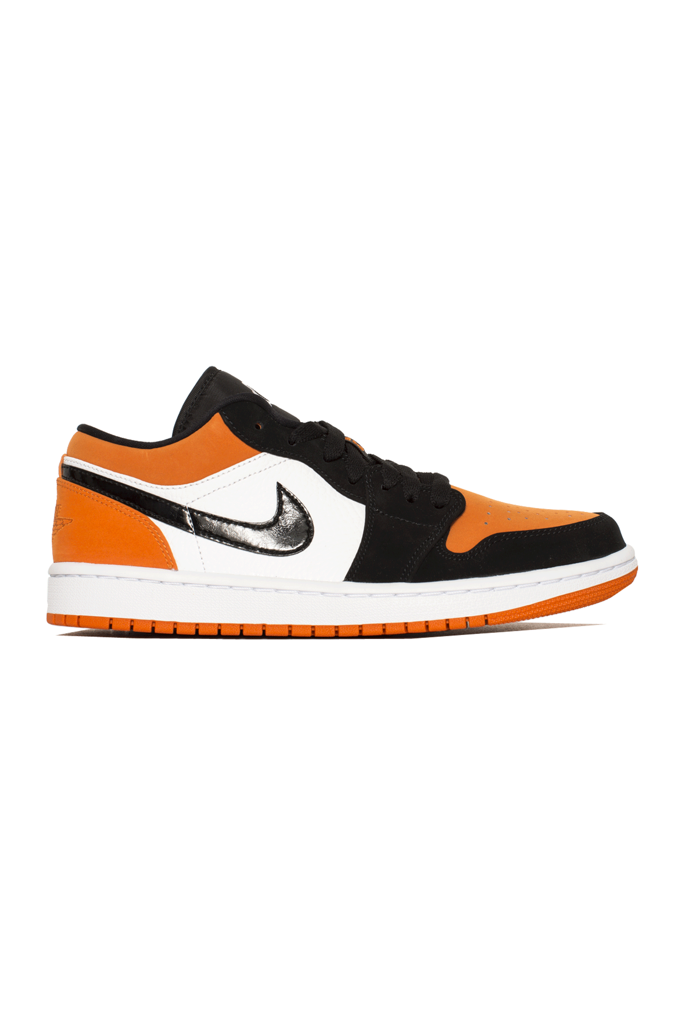 Air Jordan Sneakers 1 Low Orange 553558-#000#128#8 - One Block Down