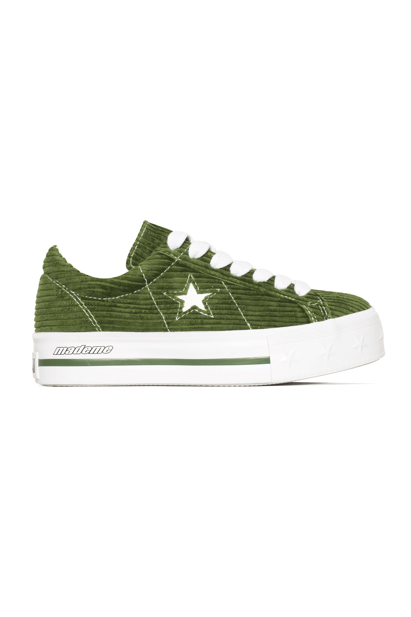 Converse Sneakers One Star Platform Ox X MadeMe Green 561392C#000#C0013#5 - One Block Down