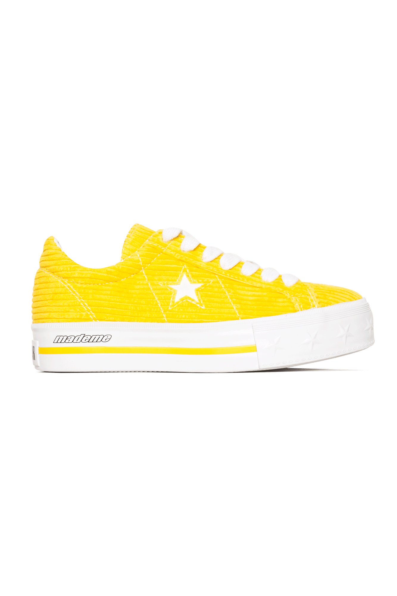 Converse Sneakers One Star Platform Ox X MadeMe Yellow 561393C#000#C0008#5 - One Block Down