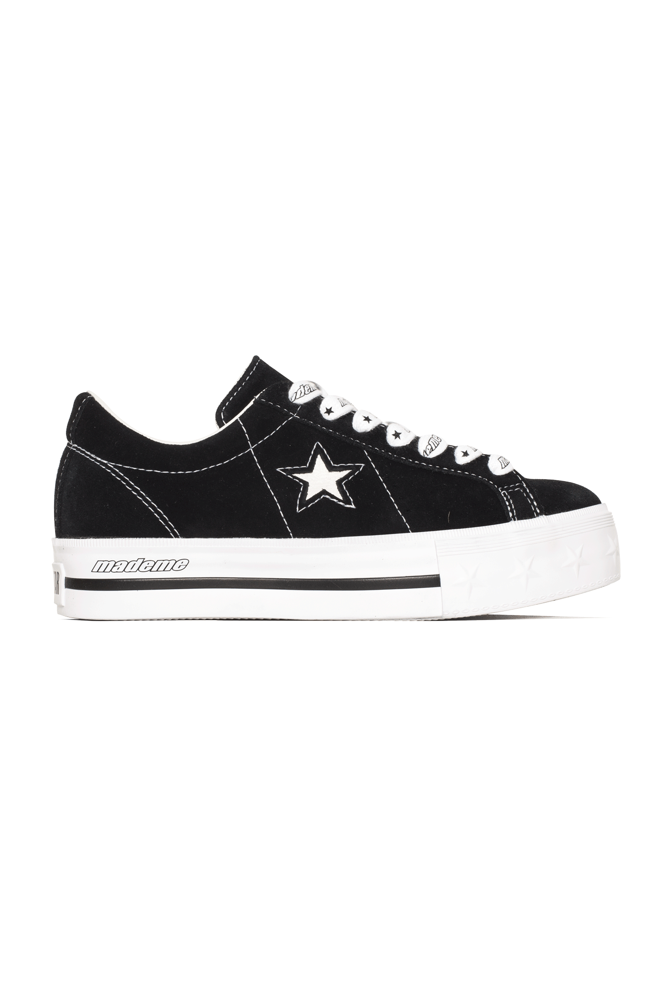 Converse Sneakers One Star Platform Ox X MadeMe Black 562959C#000#C0010#5 - One Block Down