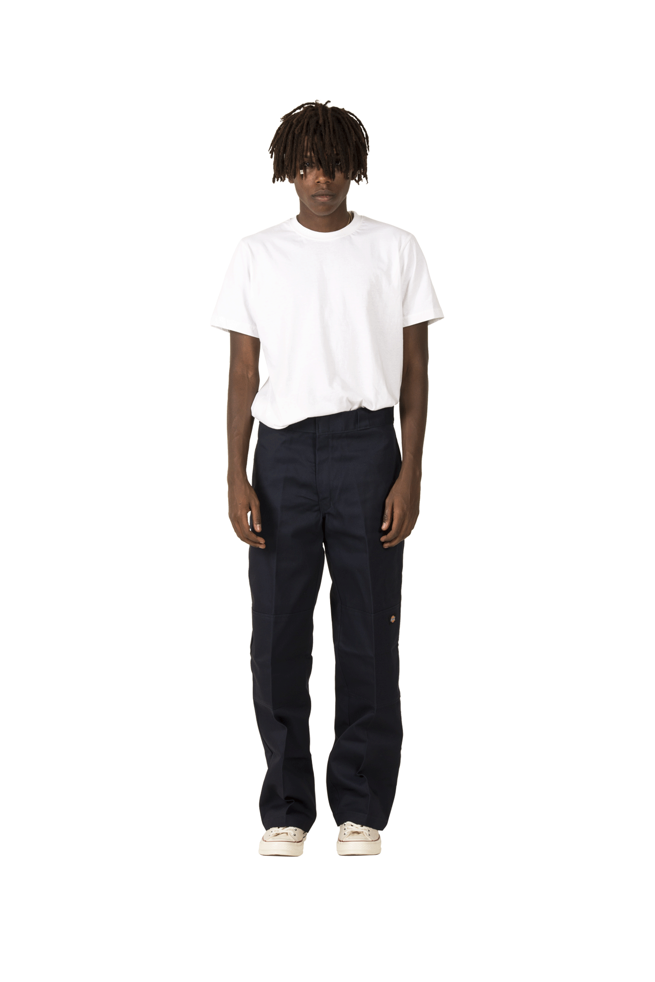 Double Knee Work Pant Blue